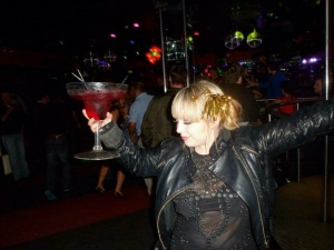 Me in my bargain Christopher Kane dress, celebrating new year and the fact that my dress is awesome ❤️